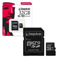 Kingston 32Gb Micro Sd Hafıza Kartı Class10